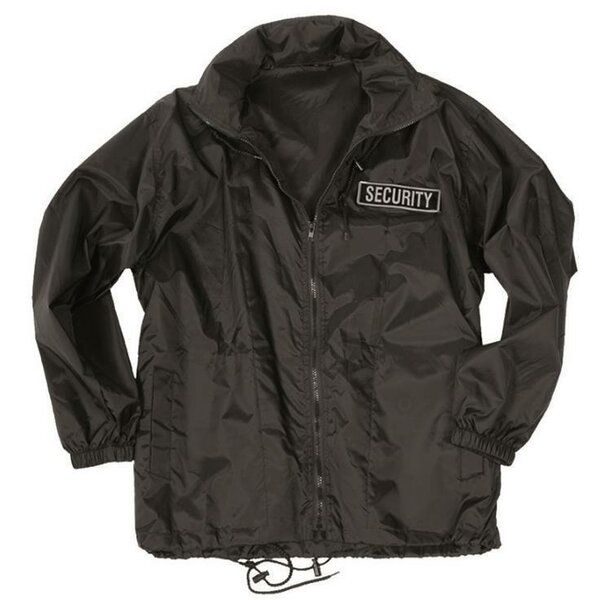 Mil-Tec Security Windbreaker Jacke