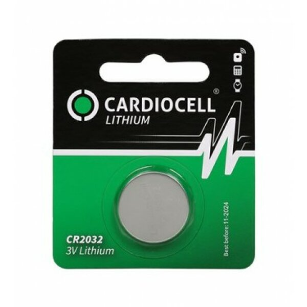 Cardiocell CR2032 3V Lithium 210mAh in 1er-Blister