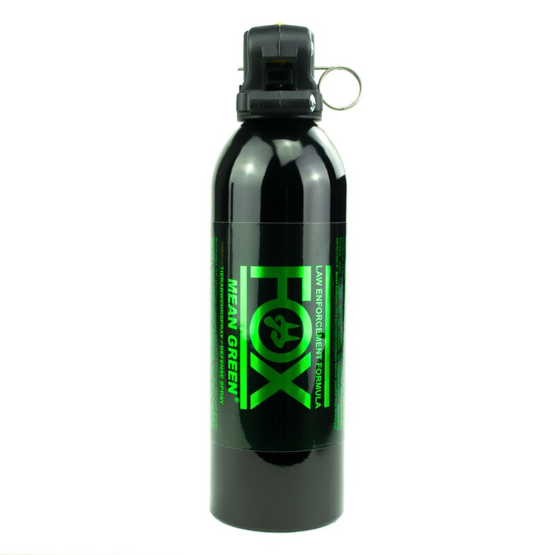 FOX Labs Mean Green Pfefferspray 355 ml - Sprühnebel Abwehrspray