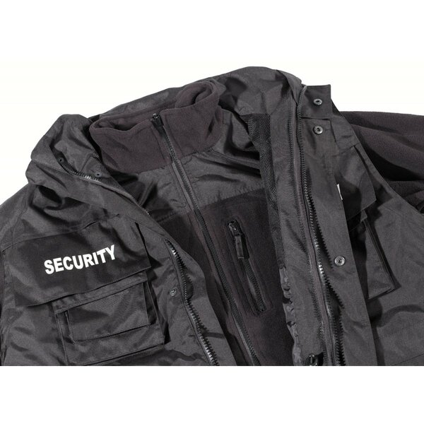 4-in-1 Security Einsatzjacke