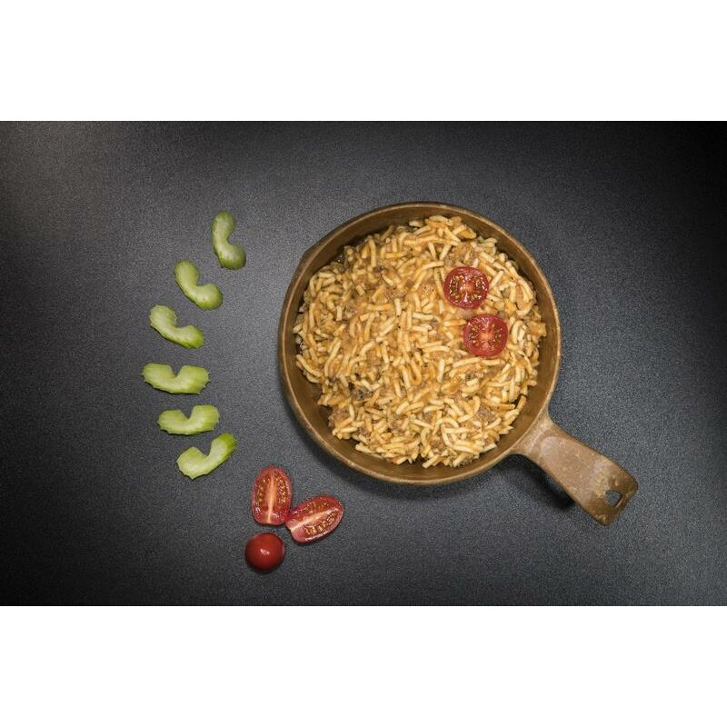 Tactical Foodpack Spaghetti Bolognese mit Rindfleisch 115g