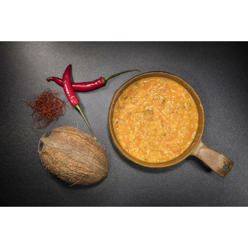 Tactical Foodpack Outdoor Nahrung Würzige Nudelsuppe 70g