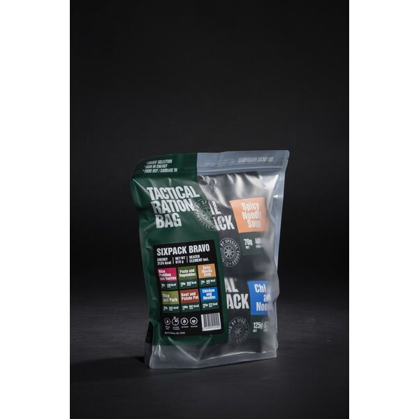 Tactical Foodpack Six Pack Bravo