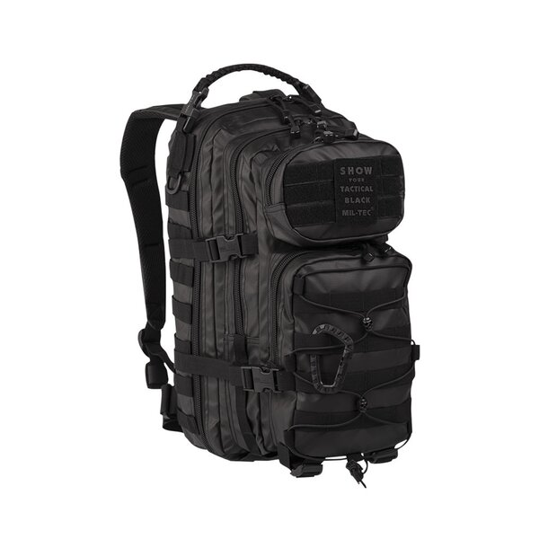 Mil-Tec US Assault Pack Small Tactical Black kleiner...