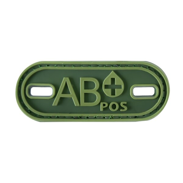 Blutgruppe AB-Positiv Patch