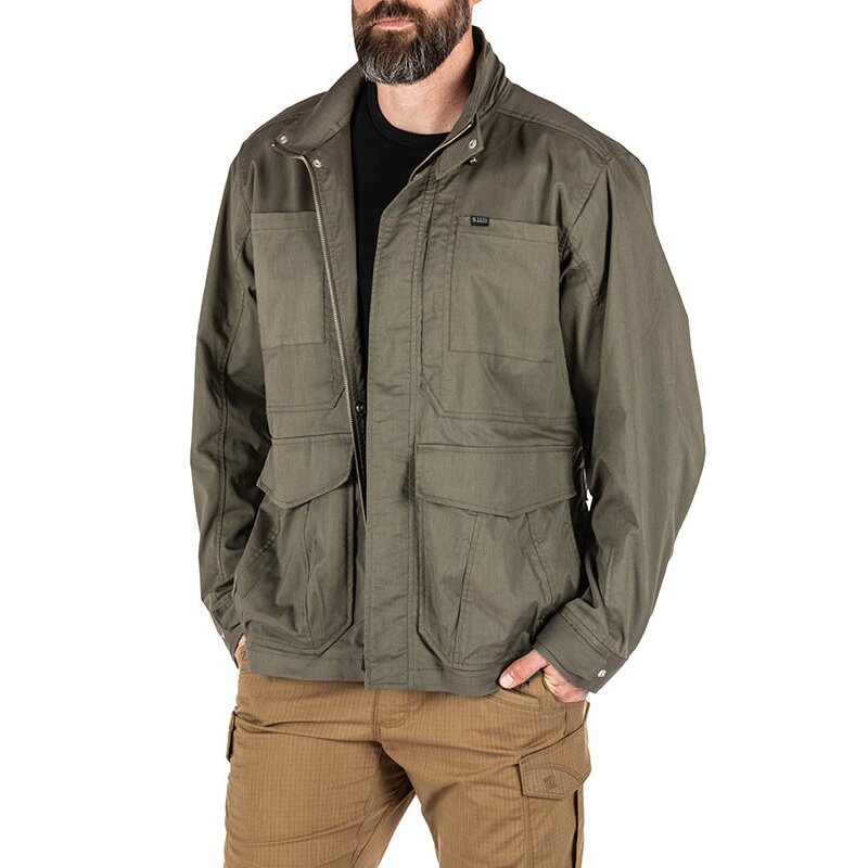 5.11 Tactical Surplus Jacket Freizeitjacke Ranger Green L