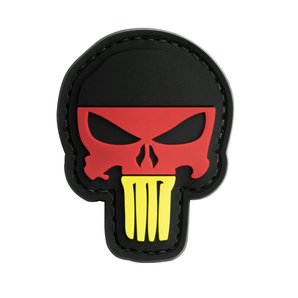 German Punisher Skull Patch